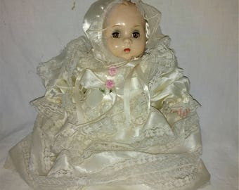 "On Sale Anette Baby 1940s - ABC Mama Doll -17"" tall Composition"
