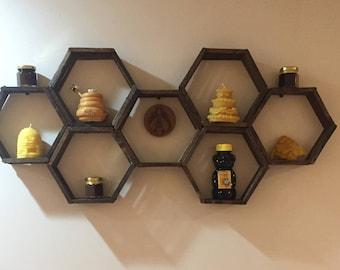 Honey Comb Wall Decor