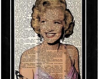 260 Mariyln Monroe  art print