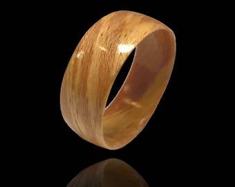 Reclaim - Unique wedding ring, bentwood ring, wood wedding band, wedding band set