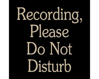 in session do not disturb wood sign hanging sign therapy room