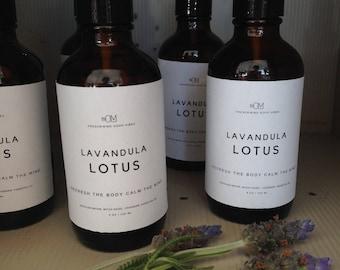 Lavender Body Mist  Lavandula Lotus / BODY MIST/ Body Spray Essential Lavender Oil /refreshing / perfume/Spray Fine Mister