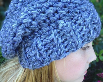 Crochet Pattern - The Sophia Hat - Toddler, Child and Adult