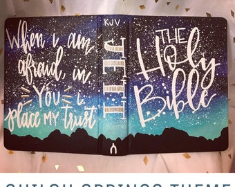 ESV Compact Painted Bible