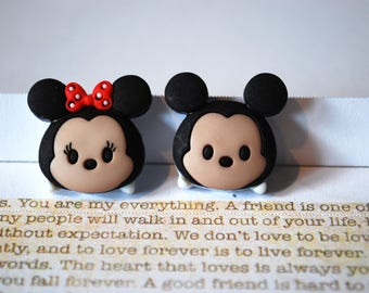 Mickey and Minnie Mouse Earrings -- Baby Mickey Mouse, Minnie Mouse, Mouse Ears