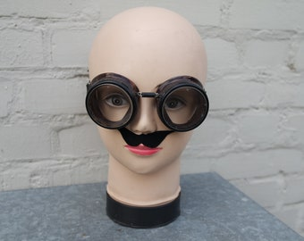 Vintage 30s Steampunk security/protection glasses/googles Willson USA