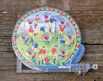 Vintage Mini Flipper Football 1960