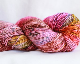 POTION - Speckle dyed super wash merino single ply yarn 100 Grams (400 yards) #2 free shipping