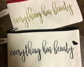 Everything has beauty-cosmetic bag