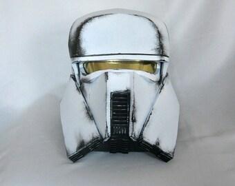 Fan-made RangeTrooper cosplay helmet fom StarWars Han Solo Movie, 1:1 EVA foam