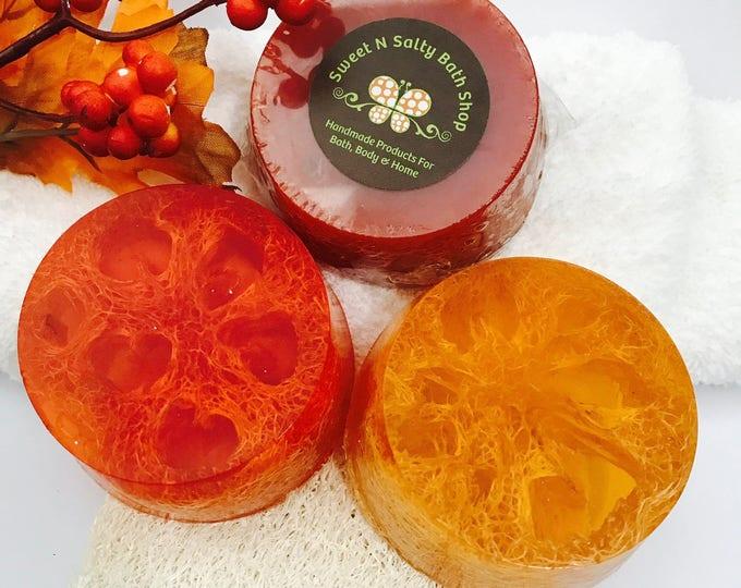 Autumn Scents Hemp & Honey Loofah Soap-Many Scents to Choose From!!