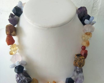 Chunky Chakra necklace