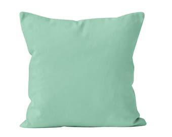 Mint Pillow Cover, Mint Pillow Covers, Mint Throw Pillow Cover, Mint Cushion Cover Toss Pillow Cover, Mint Green Accent Pillow Cover _M
