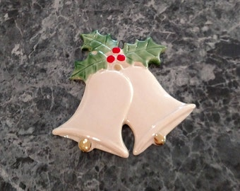 Porcelain bell ornament