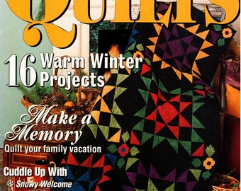 McCall's Quilting Quick Quilts Magazine - January 2000