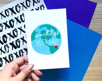 Father's Day Card,Dad Birthday Card,World's Best Dad,Dad Card,New Dad,Dad Thanks,Father's Day,Funny Fathers Day,Funny Birthday,Funny Dad