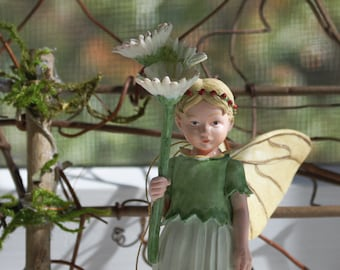 """Wall Art ~ The Fairies Among Us Photography by Olive * No. 7 Framed in Rustic Wooden Frame 5"""" x 7"""" Photograph Framed"""