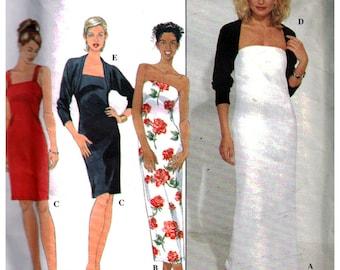 Simplicity Sewing Pattern 8764 Misses' Knit Dress and Jacket  Size:  U  16-18-20  Uncut