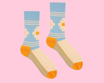 Artigas Socks in Stripes and Squares for Men and Women