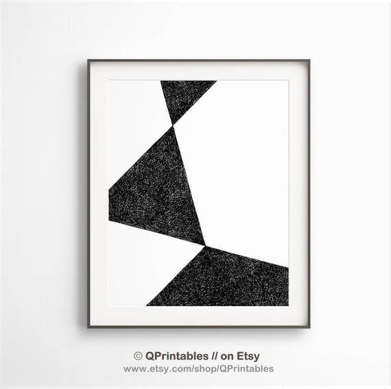 schwarz wei abstrakte geometrische kunst schwarz wei. Black Bedroom Furniture Sets. Home Design Ideas