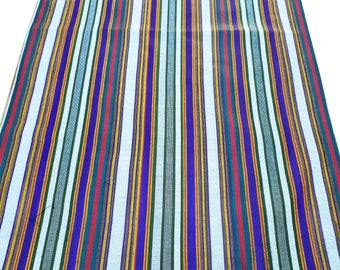 """100% Cotton fabric by the yard, width 54 cm (21 inches), handwoven uzbek """"Bekasam"""""""