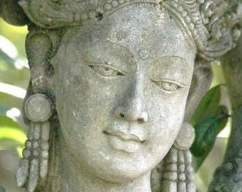 The Goddess  Kwan Yin photo 5x7 PRINT