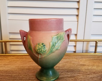 Roseville Thorn Apple Vase - 1937