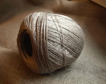 100% Natural Linen Thread Yarn 100g