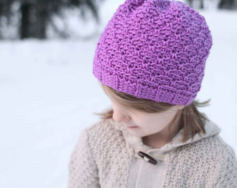 Crochet Hat Pattern - Haven Hat