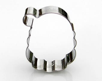 Santa Claus Cookie Cutter - Stainless Steel - USA FREE Shipping