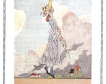 Nostalgic Vintage Nursery Print