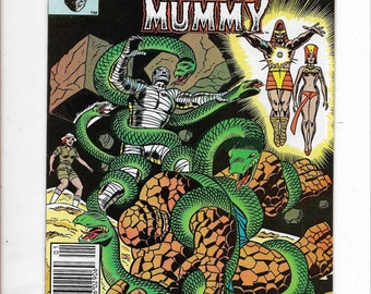 Marvel Two-In-One #95 Fantastic Fours' THE THING/The Living Mummy