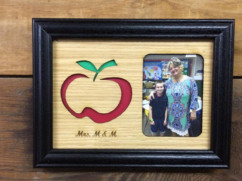 5x7 Personalized Teacher Picture Frame, Teacher Gift, End of the ...