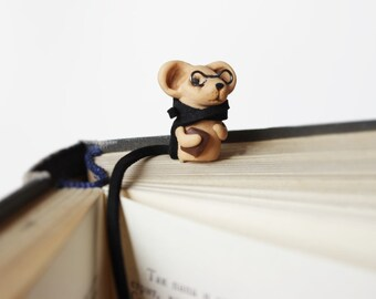 Bookmarks for books animal Cute Mouse paper clips for planners Accessories Book Clip bookworm gift