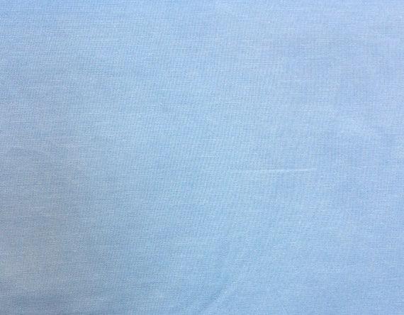 Oxford cotton poplin, blue and white