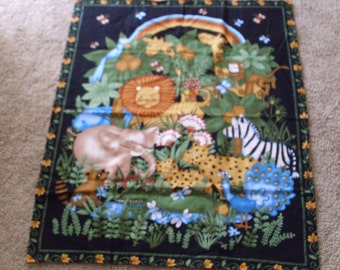 Jungle print wALL TAPESTRY/ quilt