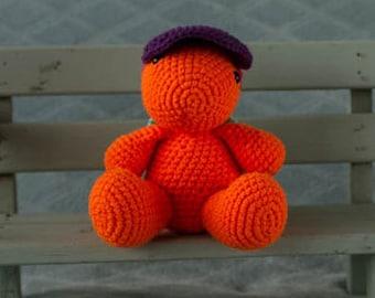 Handmade crochet cuddle toy Turtle