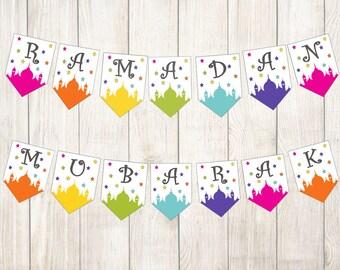 Ramadan Banner & FREE Calendar and Kids activity pack