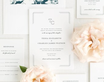 Tessa Wedding Invitation - Deposit
