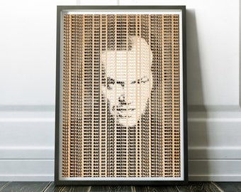 All work and no play makes Jack a dull boy - Original artwork available as Poster and Canvas