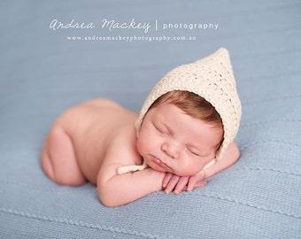 Baby Pixie Bonnet, Newborn Pixie Bonnet, Baby Pixie Hat, Newborn Pixie Hat, Pixie Hat, Newborn Photo Prop, Newborn Boy Hat, Baby Boy Hat