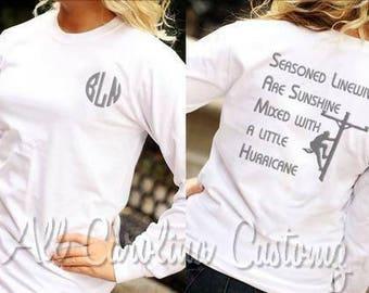 Seasoned Linewife Tee shirt