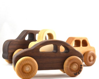 Toy Car - Choose Any Style - Eco-Friendly and Heirloom Quality - Christmas Gift