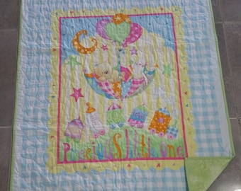 Precious Little One, Baby Quilt, Children's Quilt