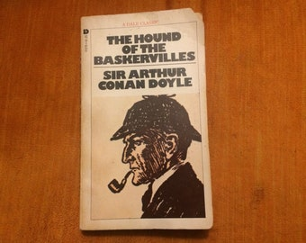 The Hound of the Baskervilles by Sir Arthur Conan Doyle (A Dale Classic) Vintage Softcover Sherlock Holmes Mystery Novel
