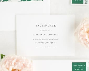 Gabriella Save the Date - Deposit