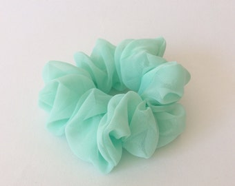 Mint Scrunchie - Handmade Scrunchie