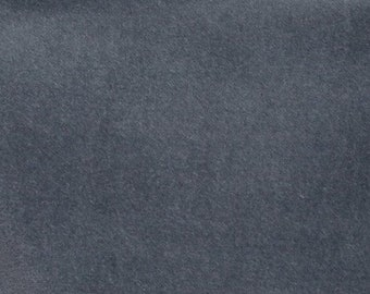 50% OFF CLEARANCE SALE Graphite Lush Velveteen from Robert Kaufman