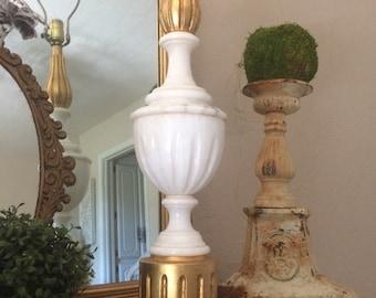 Vintage Gilt and Marble Lamp Hollywood Regency Lamp Lighting
