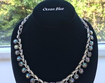 Fancy Sparkly Vintage Statement Necklace